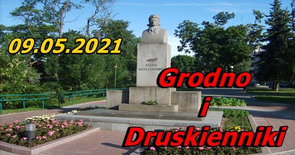 Wycieczka do Grodna i Druskiennik 09-05-2021 @ Augustów, Rynek Zygmunta Augusta 15